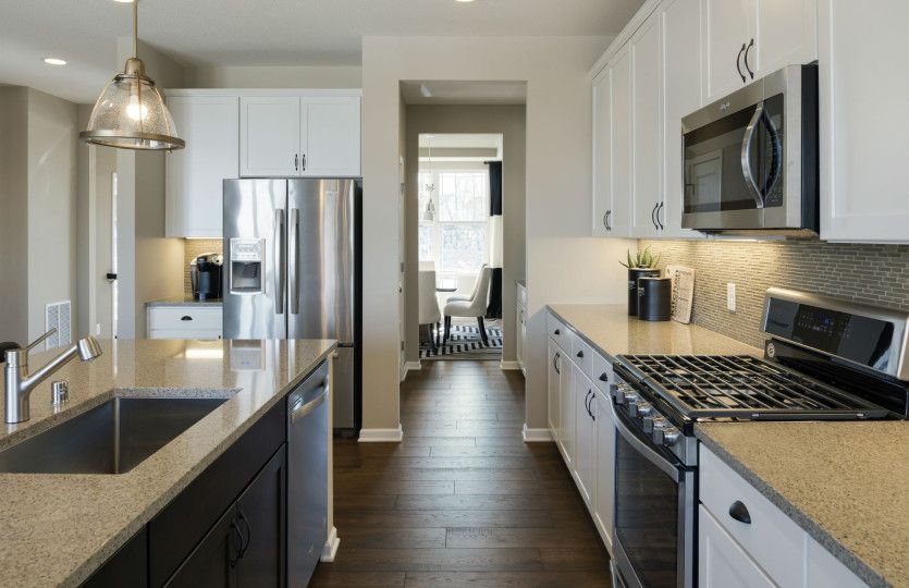 Kitchen-in-Continental-at-Camelot Nine - Expressions Collection-in-Plymouth
