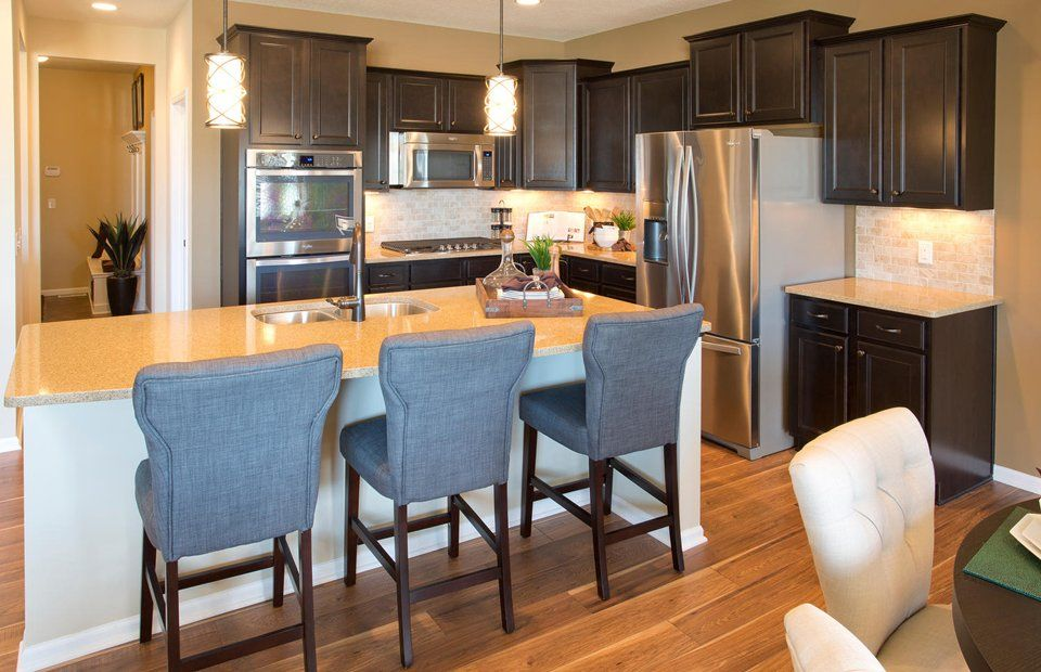 Kitchen-in-Amberwood-at-Greenway West - Expressions Collection-in-Plymouth