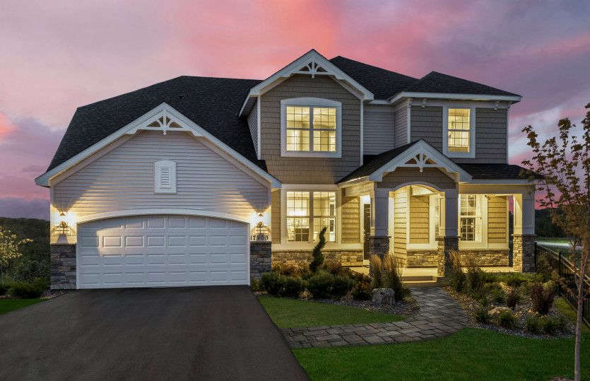 Exterior featured in the Hilltop By Pulte Homes in Minneapolis-St. Paul, MN