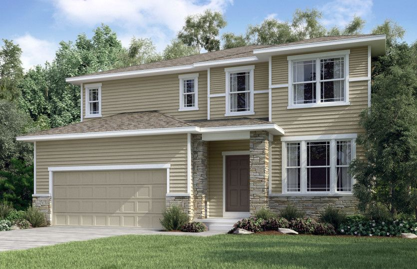 Exterior featured in the Mercer By Pulte Homes in Minneapolis-St. Paul, MN