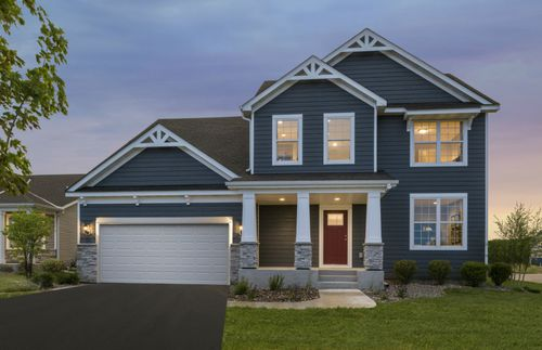 Territorial Trail- Expressions Collection by Pulte Homes in Minneapolis-St. Paul Minnesota