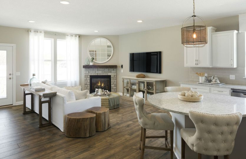 Living Area featured in the Martin Ray with Basement By Pulte Homes in Minneapolis-St. Paul, MN