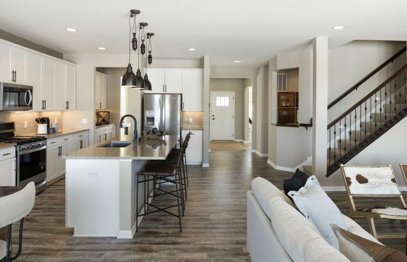 Kitchen featured in the Continental By Pulte Homes in Minneapolis-St. Paul, MN