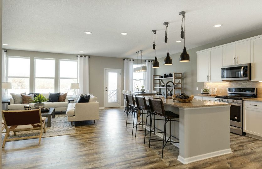Living Area featured in the Continental By Pulte Homes in Minneapolis-St. Paul, MN