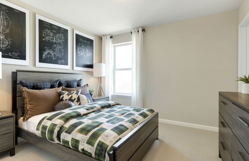 Bedroom featured in the Continental By Pulte Homes in Minneapolis-St. Paul, MN
