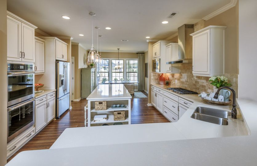 Kitchen-in-Tangerly Oak-at-Amber Meadows-in-Marvin
