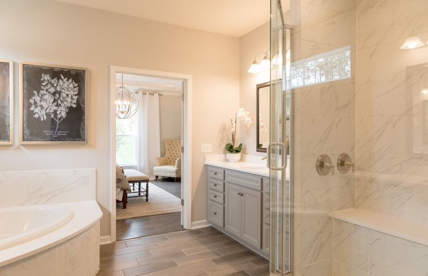 Bathroom featured in the Vanderbilt By Pulte Homes in Charlotte, SC