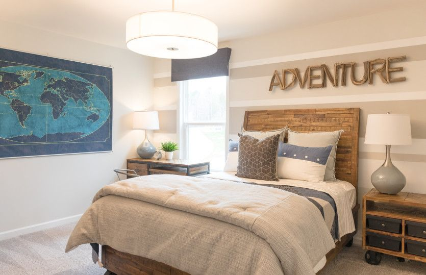 Bedroom featured in the Vanderbilt By Pulte Homes in Charlotte, SC