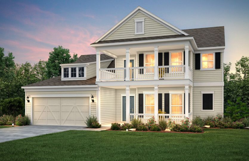 Exterior featured in the Furman By Pulte Homes in Charlotte, NC