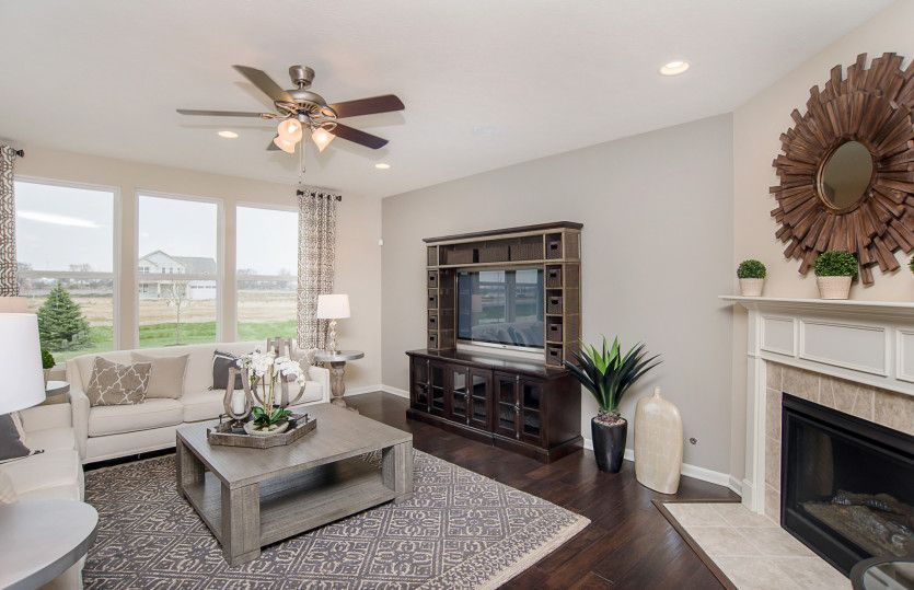 Living Area featured in the Riverton By Pulte Homes in Charlotte, NC