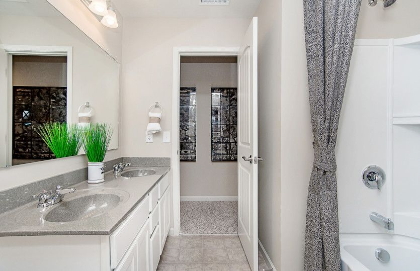 Bathroom featured in the Riverton By Pulte Homes in Charlotte, NC