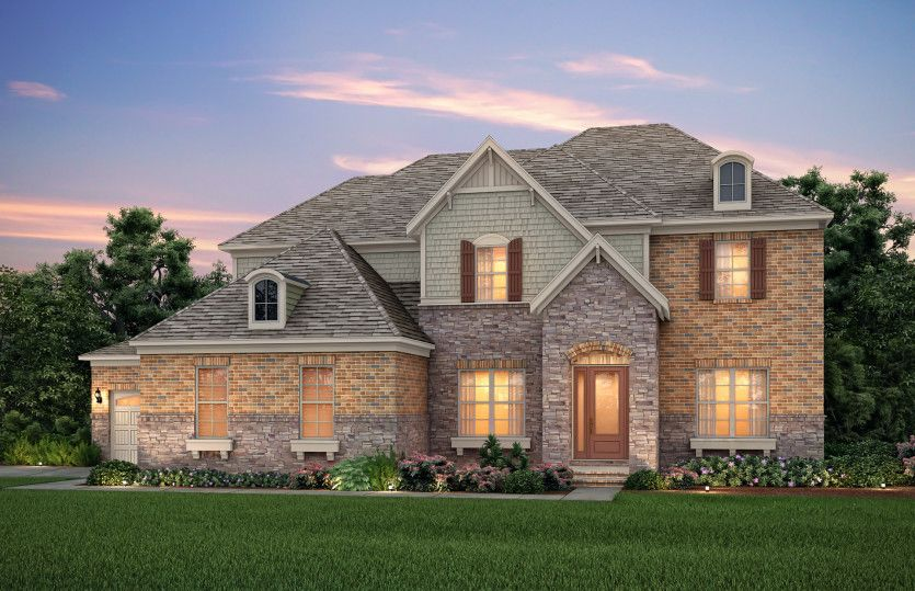 Exterior featured in the Worthington By Pulte Homes in Charlotte, NC