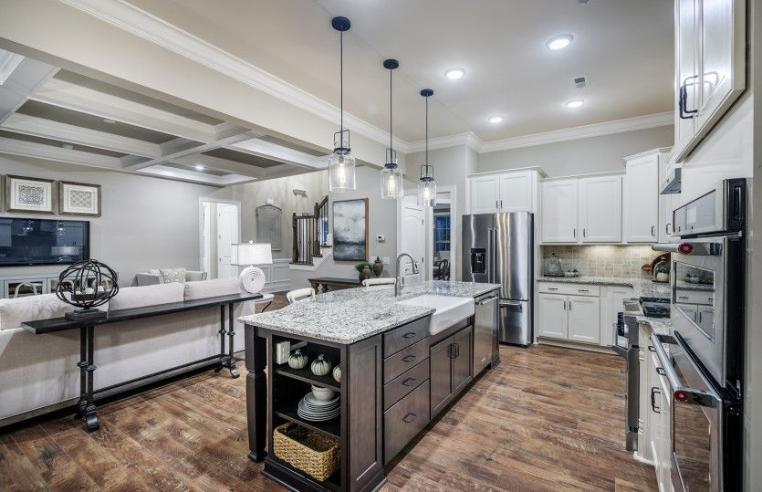 Kitchen featured in the Worthington By Pulte Homes in Charlotte, NC