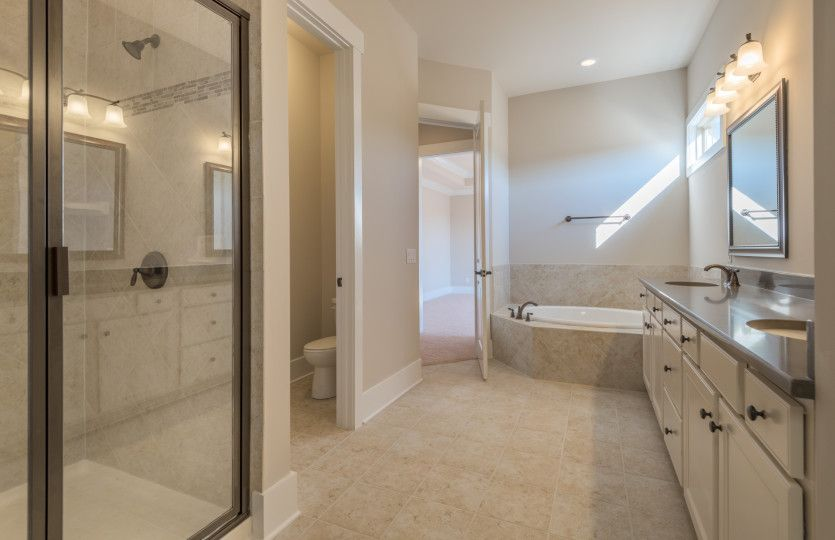 Bathroom-in-Southampton-at-Weddington Preserve-in-Waxhaw