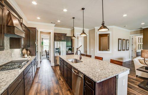 Kitchen-in-Northridge-at-Woodbury-in-New Hill