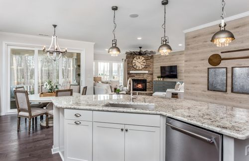Kitchen-in-Brookfield-at-Jordan Manors-in-New Hill