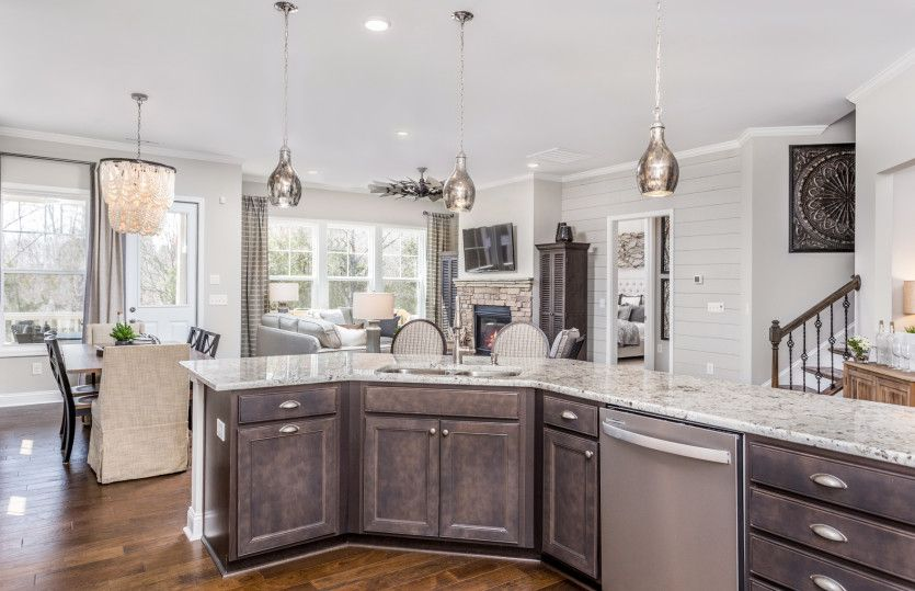 Kitchen featured in the Stonebrook By Pulte Homes in Raleigh-Durham-Chapel Hill, NC