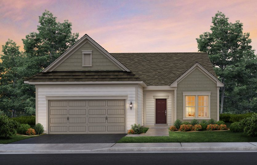 Exterior featured in the Castle Rock By Pulte Homes in Hunterdon County, NJ
