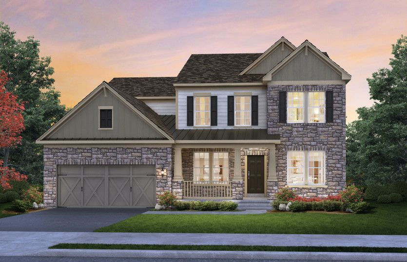 Hilltop   Reserve At North Caldwell: North Caldwell, New Jersey   Pulte  Homes