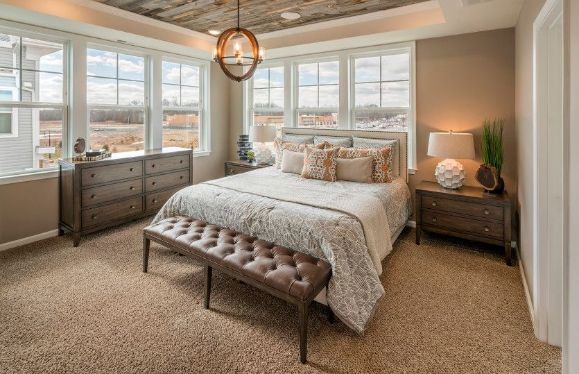 Bedroom featured in the Rutherford By Pulte Homes in Middlesex County, NJ