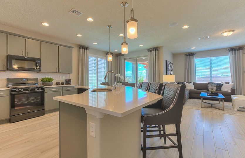 Kitchen featured in the Gateway By Pulte Homes in Albuquerque, NM