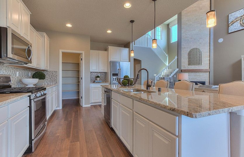 Kitchen featured in the Messina By Pulte Homes in Albuquerque, NM