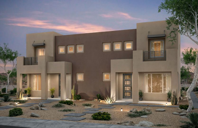 Exterior featured in the Senita By Pulte Homes in Santa Fe, NM