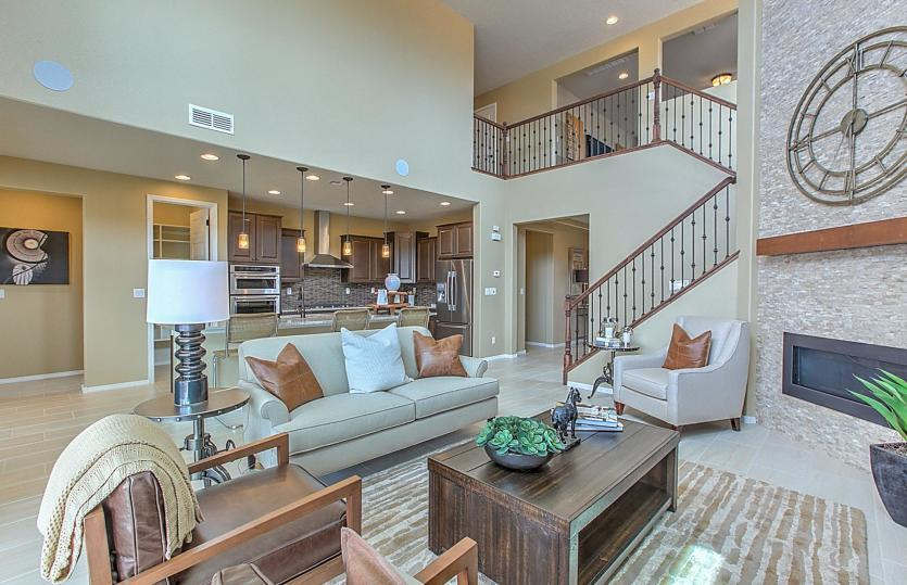 Living Area featured in the Monza By Pulte Homes in Albuquerque, NM