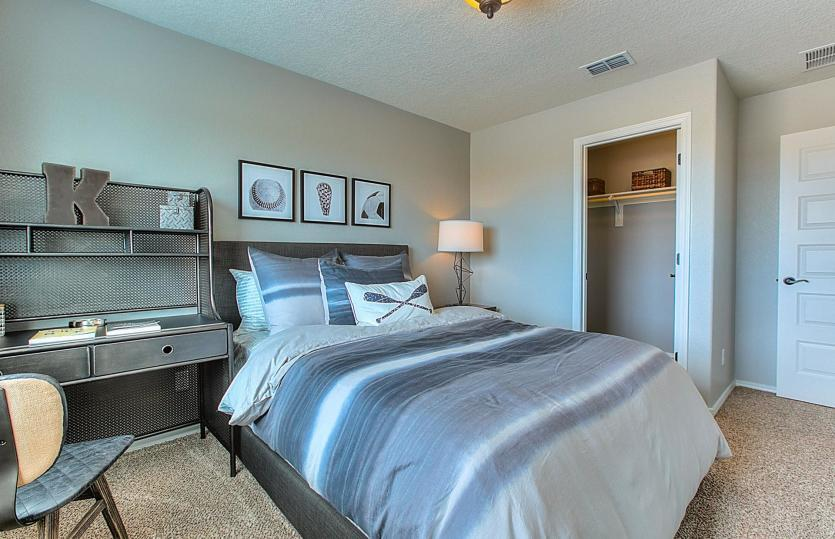 Bedroom featured in the Monza By Pulte Homes in Albuquerque, NM