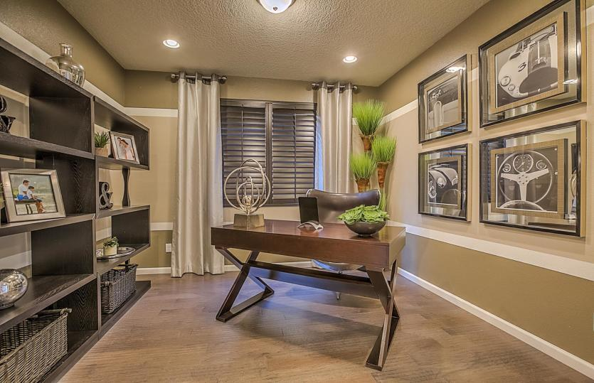 Living Area featured in the Starwood By Pulte Homes in Albuquerque, NM