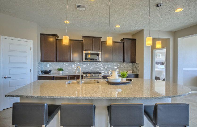 Kitchen-in-Parklane-at-Redondo at Mariposa-in-Rio Rancho