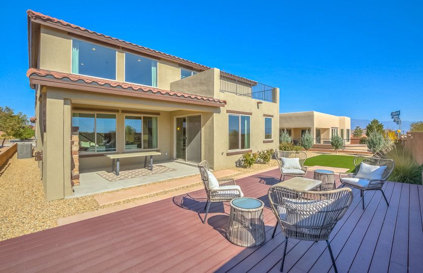 Exterior featured in the Starwood By Pulte Homes in Albuquerque, NM