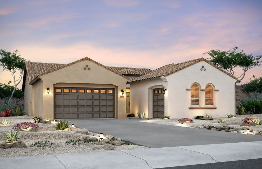 Exterior featured in the Patagonia By Pulte Homes in Albuquerque, NM