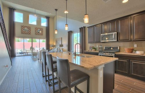 Kitchen-in-Firwood-at-The Ridge at Stormcloud-in-Albuquerque