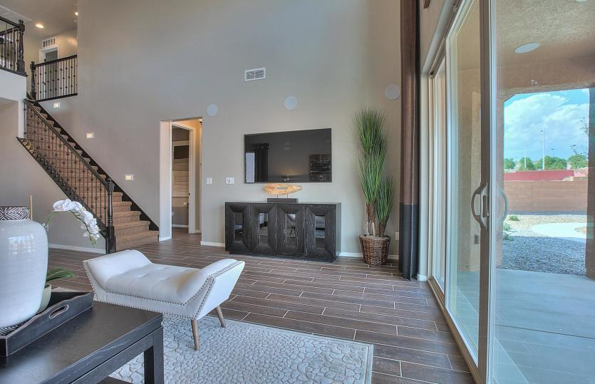 Living Area featured in the Firwood By Pulte Homes in Albuquerque, NM