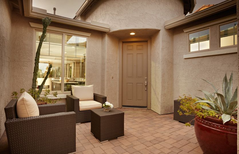 Exterior featured in the Catalina By Pulte Homes in Santa Fe, NM