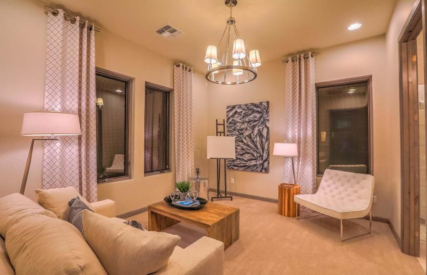 Living Area featured in the Courtside By Pulte Homes in Santa Fe, NM