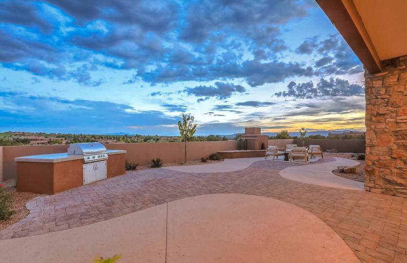Exterior featured in the Courtside By Pulte Homes in Santa Fe, NM