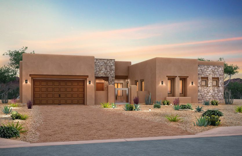 Exterior featured in the Dignitary By Pulte Homes in Santa Fe, NM