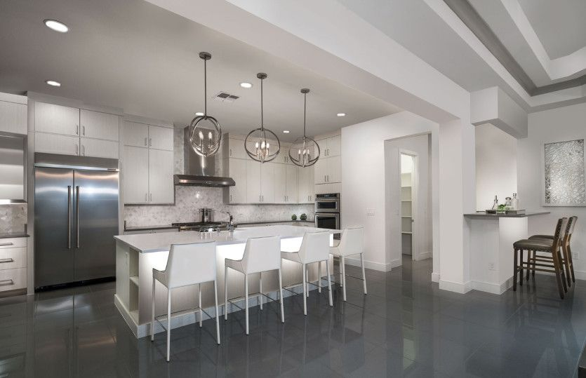 Kitchen featured in the Kingsgate By Pulte Homes in Las Vegas, NV