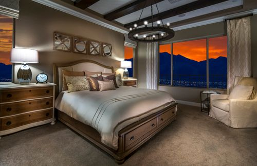 Bedroom-in-Plan 2 - Trieste-at-The Cove - Horizon and Shoreline Collections-in-Las Vegas