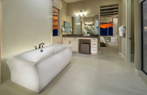 Bathroom-in-Plan 2 - Trieste-at-The Cove - Horizon and Shoreline Collections-in-Las Vegas