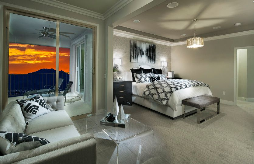 Bedroom-in-Plan 4 - Trento-at-The Cove - Horizon and Shoreline Collections-in-Las Vegas