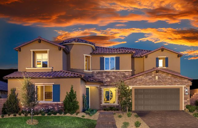 The Cove Retreat Collection In Las Vegas Nv New Homes