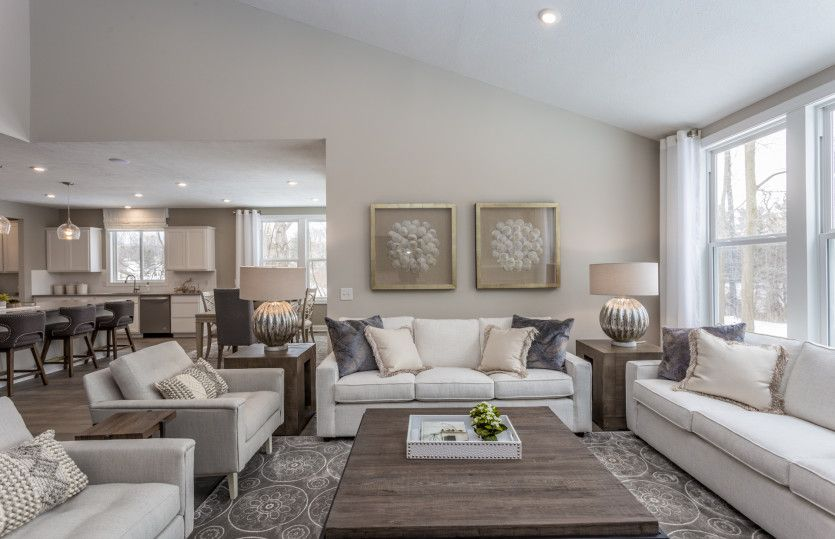 Living Area featured in the Lyon By Pulte Homes in Cleveland, OH
