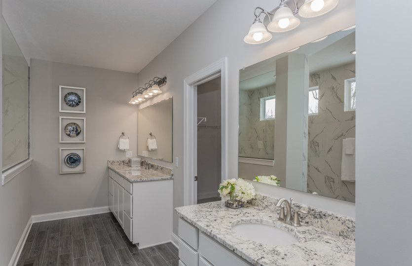 Bathroom featured in the Lyon By Pulte Homes in Cleveland, OH