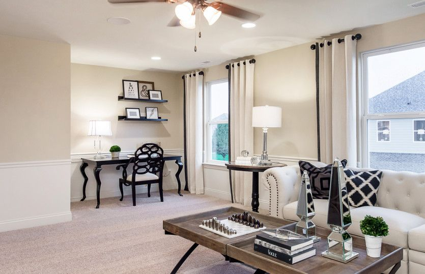 Living Area featured in the Bourges By Pulte Homes in Cleveland, OH