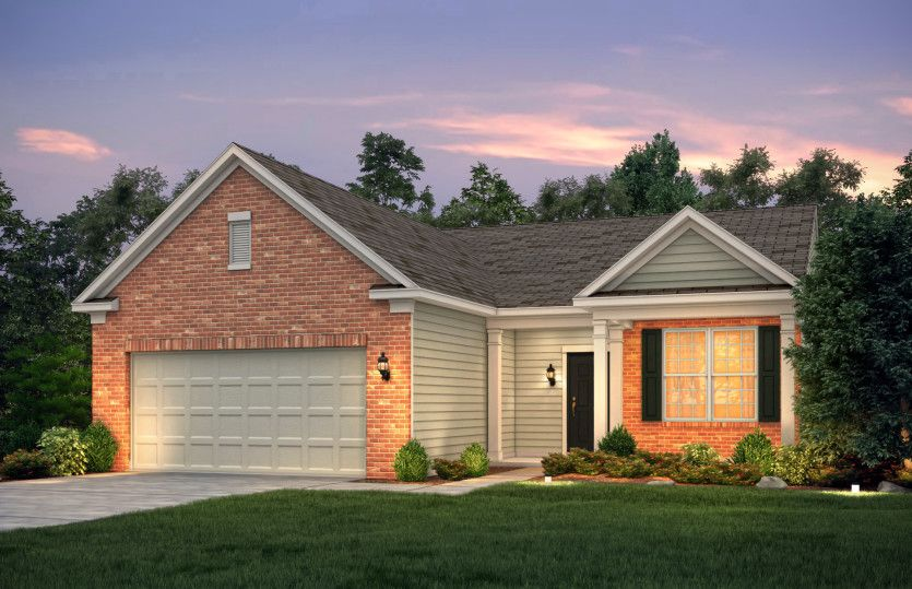 Exterior featured in the Castle Rock By Pulte Homes in Columbus, OH