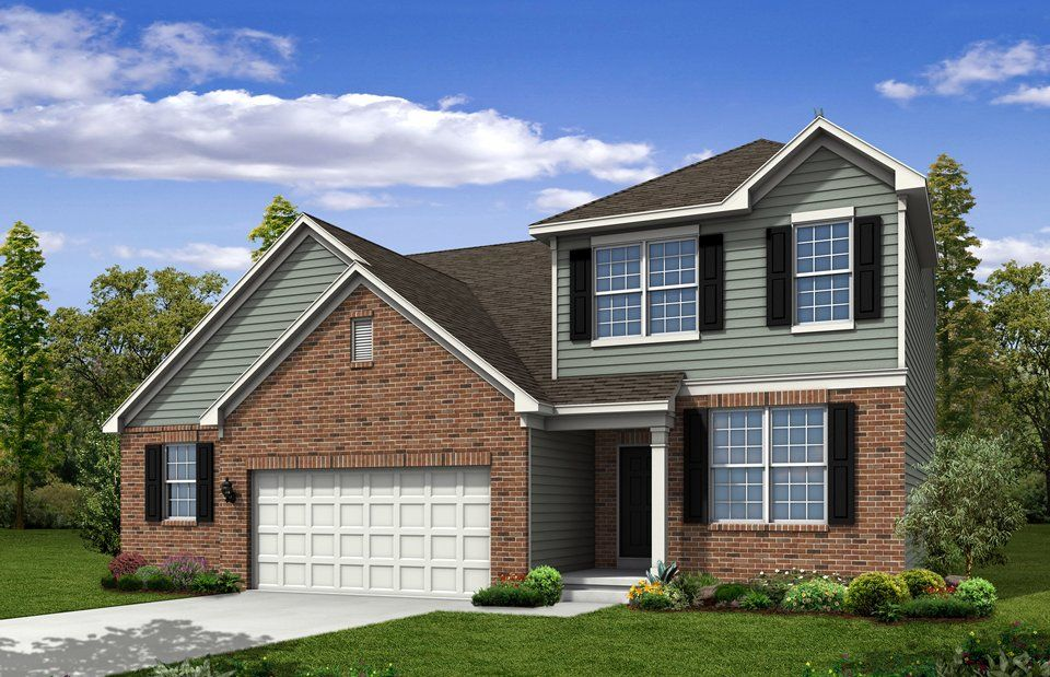 Exterior featured in the Greenfield By Pulte Homes in Columbus, OH