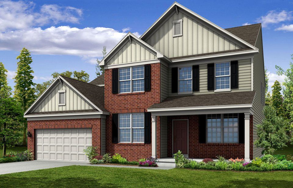 Exterior featured in the Riverton By Pulte Homes in Columbus, OH
